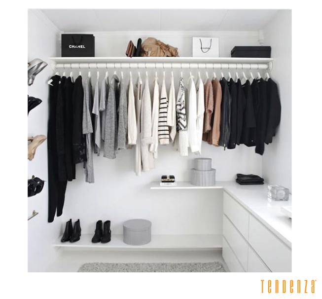 Como organizar o guarda-roupa para a mudança de estação