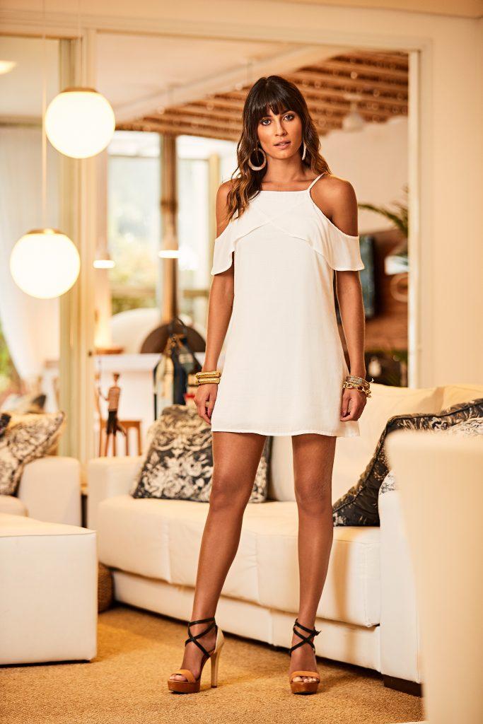 vestido branco para primavera