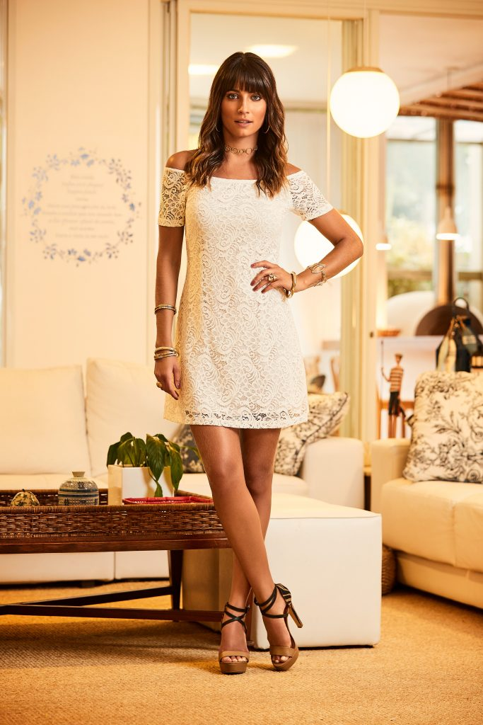 vestido all white