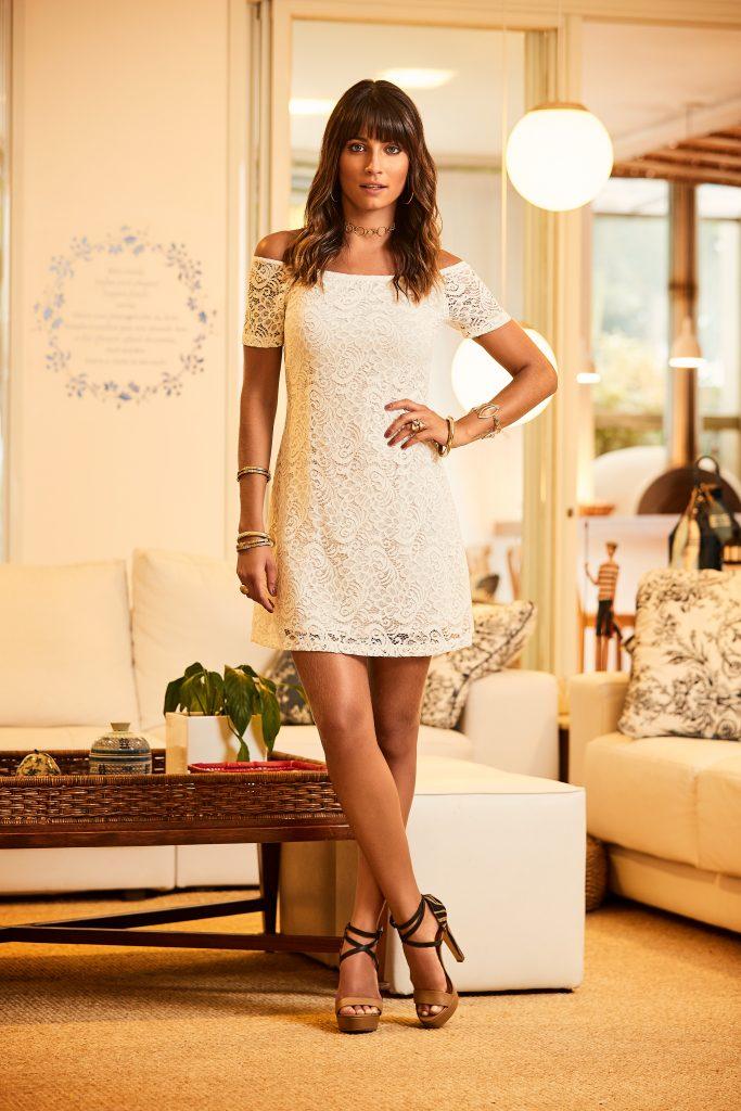 vestido all white