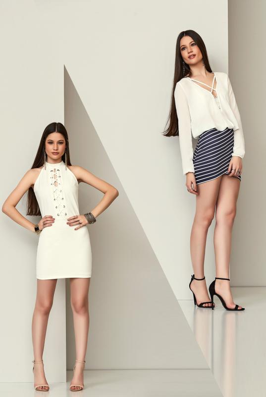 roupas para fim de ano branca