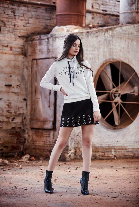 tendência moletom fashionista