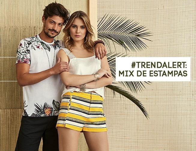 #trendalert: mix de estampas