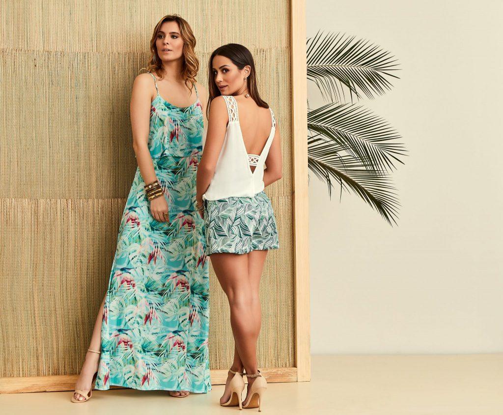 ec7c136e6 Então, essa padronagem incrível aparece cheio de estilo e fluidez nos  nossos vestidos longos.