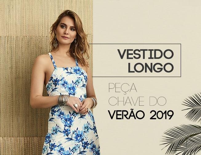 vestido longo: peça chave do verão 2019